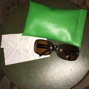 Kate spade sunglasses brown.